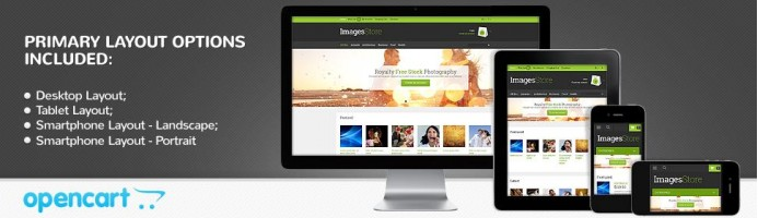 Stock Photo - Responsive Theme