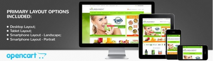 Health Sport Nutrition - Responsive