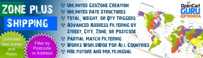 Zone Plus Table Rate Shipping (Total/Qty/Weight) 1.5.x/2.x