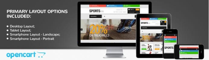 Active Sports - Responsive 2.0 Theme
