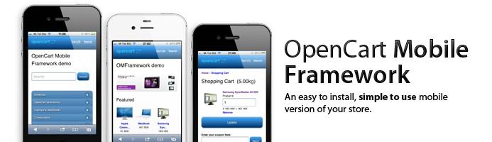 OpenCart Mobile Framework