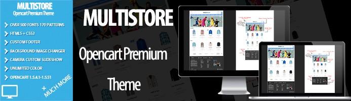 MultiStore Premium OpenCart