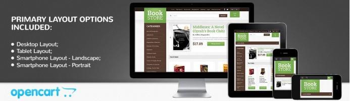 Book Shop - Responsive Theme