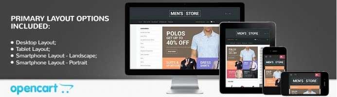 Suits & More - Responsive Theme