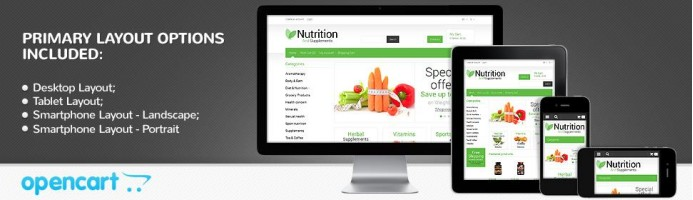 Nutrition & Supplements - Responsive