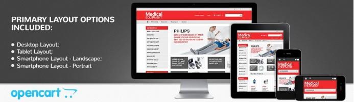 Medical Equipment - Responsive Store