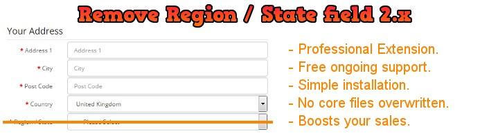 Remove Region / State / Zone v 2.x