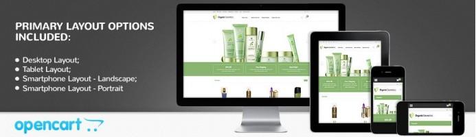 Organic Cosmetics - Responsive 2.0 Theme