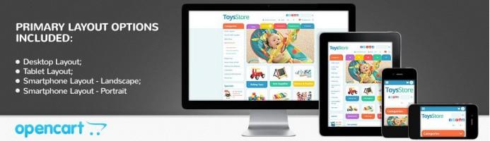 Toys Store - Responsive 2.0 Theme
