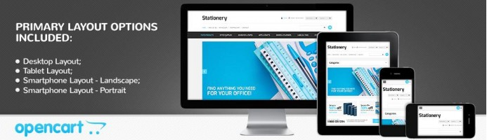 Stationery Store - Responsive 2.0 Theme