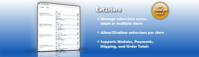 Ext2Store (1.5.x/2.x)