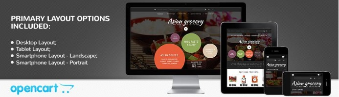 Asian Grocery - Responsive 2.0 Theme