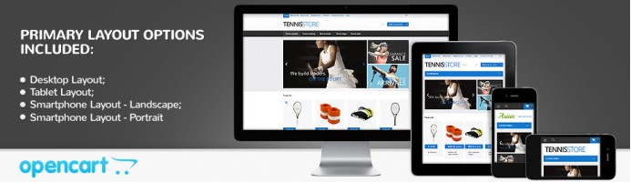 Tennis Gear Responsive Theme