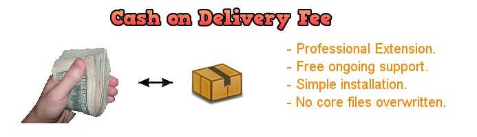 Cash On Delivery Fee 2.x