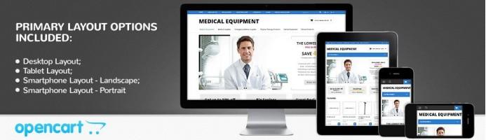 Medical Equipment - Responsive Theme