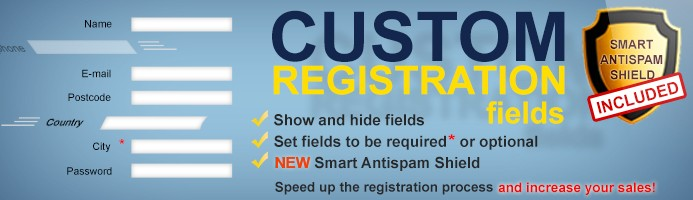 Custom Registration Fields