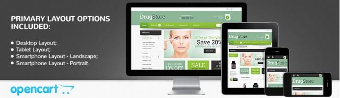 Drug Store - Responsive Theme