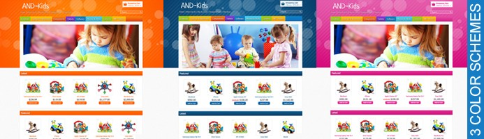 Kinder OpenCart Template