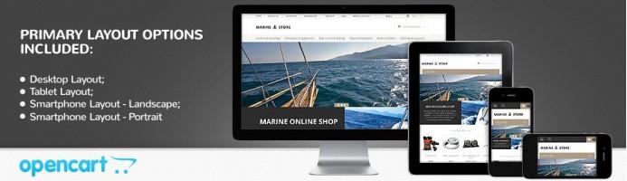 Marine Thrill - Responsive Theme