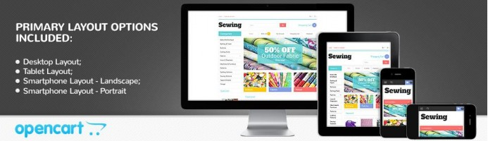Sewing Crafts - Responsive Theme