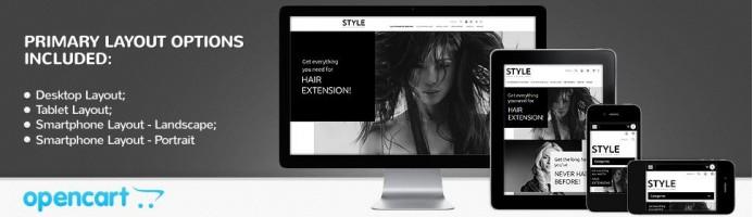 Hair and Beauty Salon - Responsive 2.0 Theme