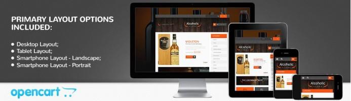Refined Liquor - Responsive Store