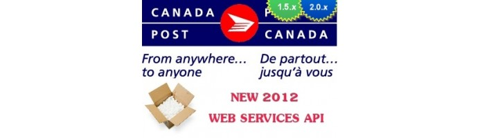 Canada Post WebService Live Rates 1.5.x/2.x/Mijoshop