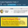Custom Registration Fields - Smart Antispam Shield