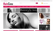 1/2 style Hair Care red theme 2X