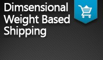 Dimensional Weight Based Shipping