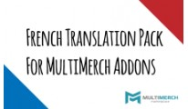 French Translation Pack for MultiMerch Addons