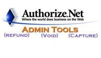 Authorize.net Admin Tools 15x/2xx (Refund/Void/Capture)