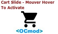 Cart Slide - Mouse Hover to Aticvate