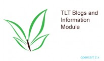 TLT Blogs and Information module for Opencart 2.x