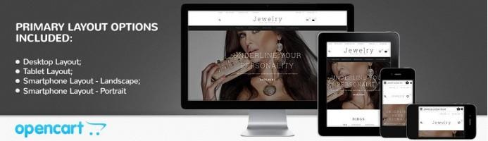 Jewelry - Responsive 2.1 Theme