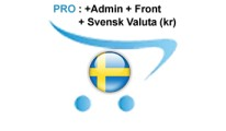 ✔ Professionell Svenska | Swedish Pack Pro for OpenCart 2.x