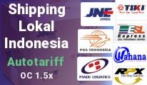Shipping Lokal Indonesia (JNE,TIKI,POS,RPX,ESL, Pandu,Wahana)
