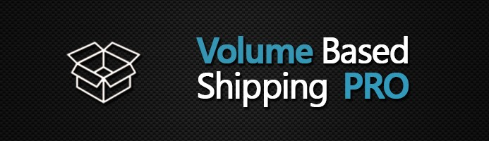 Volume-Based Shipping PRO