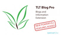 TLT Blog Pro: Blogs and Information Extension for Opencart 2.x