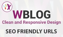 WBlog - Clean and Responsive Design