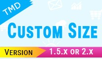 Custom Size option (1.5.x 2.x)(ocmod & vqmod)
