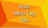 Auto Meta Tag Title Multilanguage (Vqmod & Ocmod)