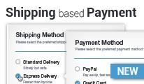 Shipping based Payment - set payment to depend on shipping