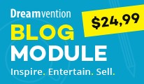 Blog Module - Limited offer - 60% OFF blog