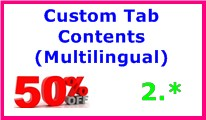 Custom Tab Contents (Multilingual)