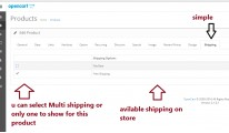 shipping per product (quick and easy)