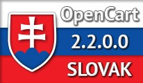 SLOVAK LANGUAGE / SLOVENČINA / OPENCART 2.2.0.0