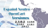 OpenCart Español Neutro - Latinoamericano 2.2.0.0 - 2.3.0.2