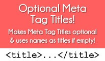 OPTIONAL META TAG TITLES FOR OPENCART 2