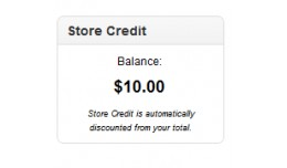 Show Store Credit Module